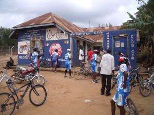 Bike Clubhouse. Mbarara, Uganda