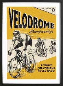 Historical Velodrome Poster